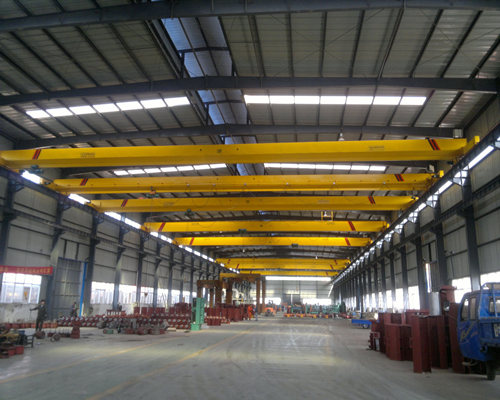 Single girder bridge crane for sale
