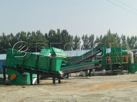waste recycling plant