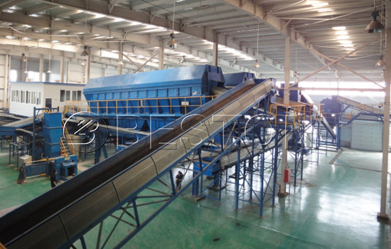 Garbage sorting machine for sale
