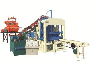 QT4-15C fly ash brick making machine